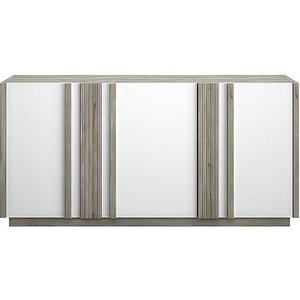 Furniture Village Vue 3 Door Sideboard - White Vue Sb 3  001