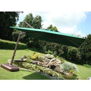 Cantilever Parasol - Roma 3m Square The Garden Furniture Centre Ltd Parcan04 06