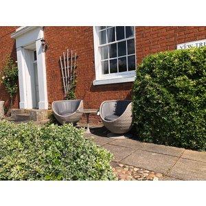Luxor Meteor Swivel Chair Set The Garden Furniture Centre Ltd Rtdom205kset