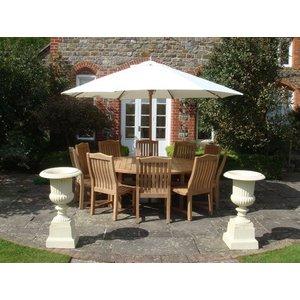 Malvern Teak Dining Set 5 The Garden Furniture Centre Ltd Ktk12