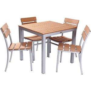 Plaza Dining Set (four Dining Chairs) The Garden Furniture Centre Ltd Plazak2