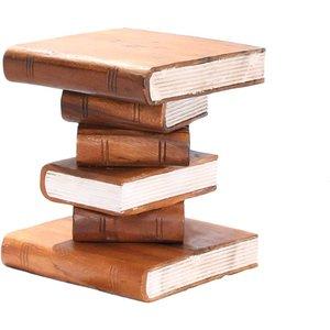 Stacked Books Ornamental Table - Small The Garden Furniture Centre Ltd Handy101