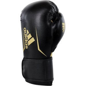 Adidas Speed 100 Kickboxing Gloves Black/white 3662513352068, Black/White