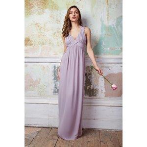 Tfnc London Tfnc Arle Lavender Fog Maxi Dress Grey 9212 Womens Clothing, Grey