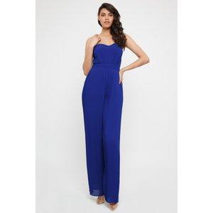 Tfnc London Tfnc Diray Cobalt Jumpsuit Blue 11046 Womens Clothing, Blue