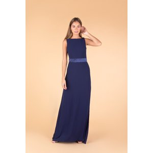 Tfnc London Tfnc Halannah Navy Maxi Dress 12410 Womens Clothing, Navy