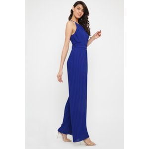 Tfnc London Tfnc Sarae Cobalt Jumpsuit Cobalt Blue 11188 Womens Clothing, Cobalt Blue