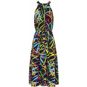 Avon - Summer Tones Midi Dress - 6/8, Black/green/blue 11016 212398416906, Black/Green/Blue