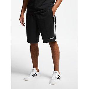 Adidas Essentials 3-stripes French Terry Shorts Black , Black