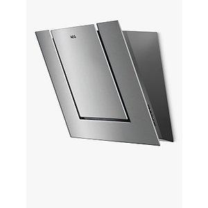 Aeg Dvb4550m Angled Chimney Cooker Hood, Stainless Steel