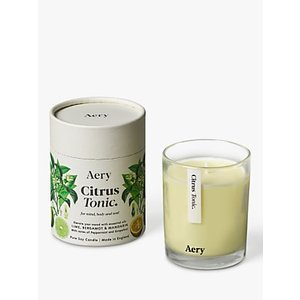 Aery Citrus Tonic Scented Candle, 533g  House Accessories