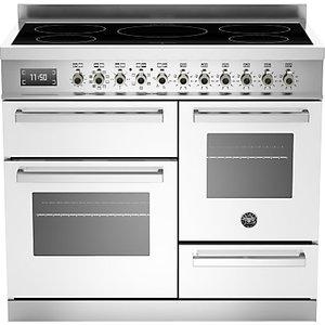 Bertazzoni Professional Series 100cm Electric Induction Xg Range Cooker, White
