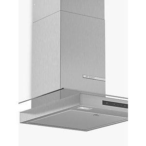 Bosch Dwg66dm50b 60cm Box Chimney Cooker Hood, B Energy Rating, Stainless Steel