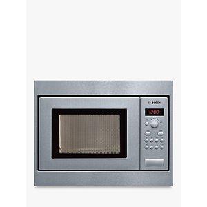 Bosch Hmt75m551b Built-in Microwave, Brushed Steel