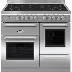 Britannia Rc-10xgi-ql Q-line Induction Hob Range Cooker, Stainless Steel