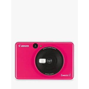 Canon Zoemini C Instant Camera, Bubblegum Pink