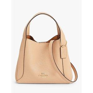 Coach Hadley Leather Small Hobo Bag Womens Accessories, Beechwood