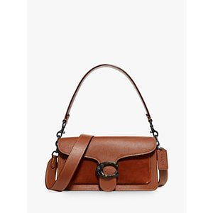 Coach Tabby 26 Leather Suede Shoulder Bag, 1941 Saddle Womens Accessories