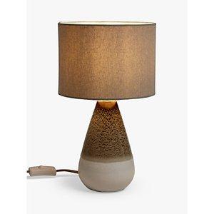 Croft Collection Potter Mini Ceramic Table Lamp, Green
