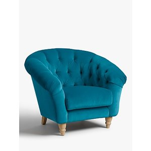 Cupcake Armchair By Loaf At John Lewis, Clever Velvet Pacific
