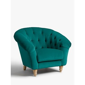 Cupcake Armchair By Loaf At John Lewis, Clever Velvet Real Teal