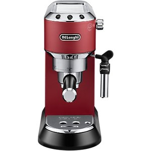 De'longhi Ec685 Dedica Style Pump Espresso Coffee Machine, Red
