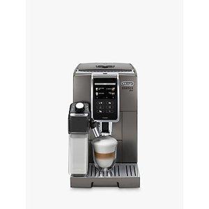 De'longhi Ecam370.95.t Dinamica Plus Bean To Cup Coffee Machine, Silver