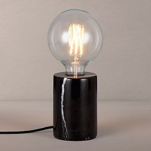 Design Project By John Lewis No.163 Marble Bulbholder Table Lamp