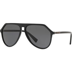 Dolce & Gabbana Dg4341 Women's Aviator Sunglasses, Black/grey Womens Accessories