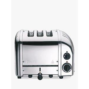 Dualit 3 Slot Vario Toaster, Stainless Steel