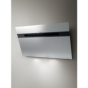 Elica Ascent Led 90cm Wall Mounted Chimney Cooker Hood, Stainless Steel