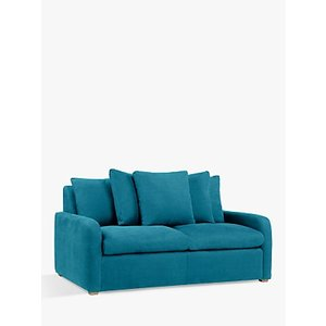 Floppy Jo Sofa Bed By Loaf At John Lewis, Clever Velvet Pacific