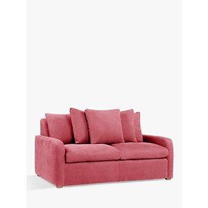Floppy Jo Sofa Bed By Loaf At John Lewis, Clever Velvet Dusty Rose