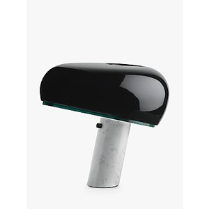 Flos Snoopy Marble Touch Table Lamp, Black