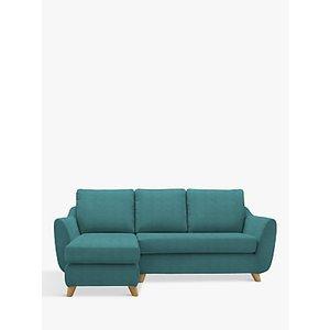 G Plan Vintage The Sixty Seven Lhf Chaise End Sofa, Deluxe Scuba Velvet