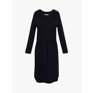 Gerard Darel Tylia Wool Blend Dress, Navy