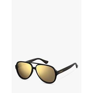 Havaianas 201692 Women's Leblon Aviator Sunglasses Womens Accessories, Black/Mirror Yellow