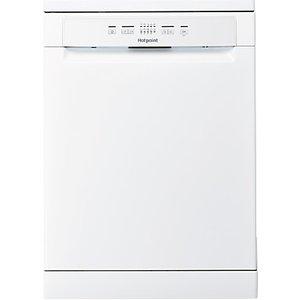 Hotpoint Hfc 2b19 Freestanding Dishwasher, White