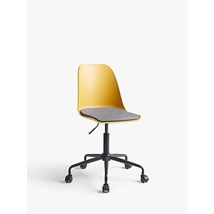 House By John Lewis Whistler Office Chair, Mustard