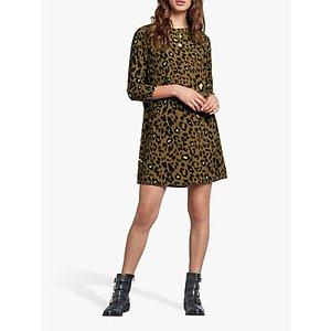 Hush Lucie Leopard Print Dress, Neon Leopard