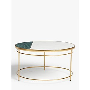 John Lewis & Partners + Swoon Sartre Marble Coffee Table