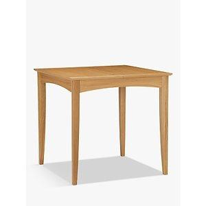 John Lewis & Partners Alba 2-4 Seater Extending Dining Table, Oak