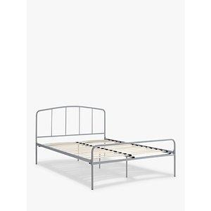 John Lewis & Partners Alpha Bed Frame, Double, Grey