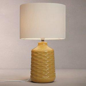 John Lewis & Partners Annie Table Lamp, Saffron