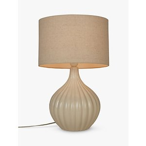 John Lewis & Partners Betsy Ceramic Table Lamp, Cream