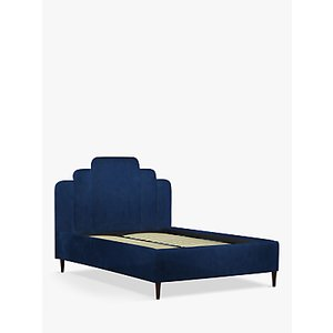 John Lewis & Partners Boutique Upholstered Bed Frame, Double, Opulence Royal Blue