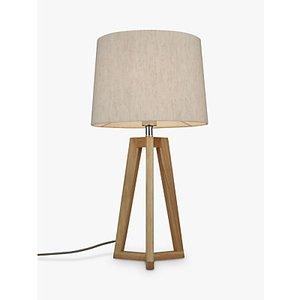 John Lewis & Partners Brace Table Lamp, Fsc-certified (oak)