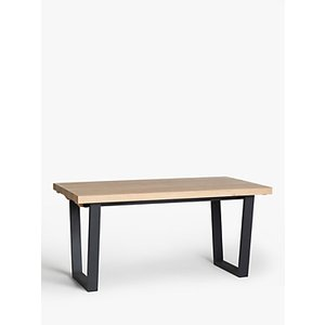John Lewis & Partners Caiden 6-10 Seater Extending Dining Table, Natural