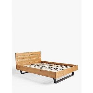 John Lewis & Partners Calia Bed Frame, King Size, Oak, Oak