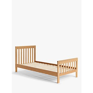 John Lewis & Partners Charlotte Single Oak Bed, Natural